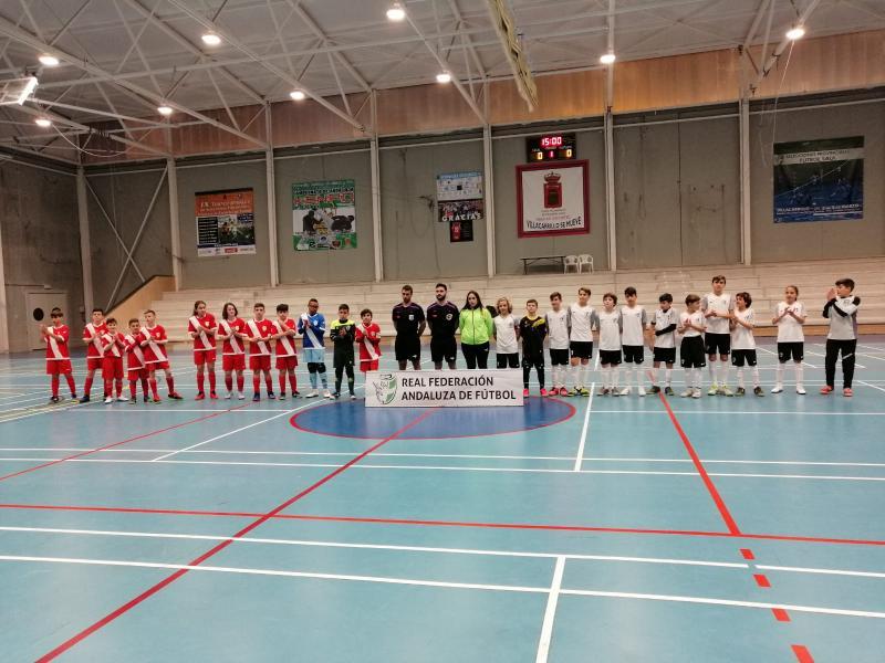 Comenzó en Villacarrillo el Campeonato de Andalucía Alevín de Fútbol Sala  Las selecciones de Sevilla 0ac1af7055233